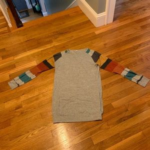Lightweight tunic sweatshirt - runs small!